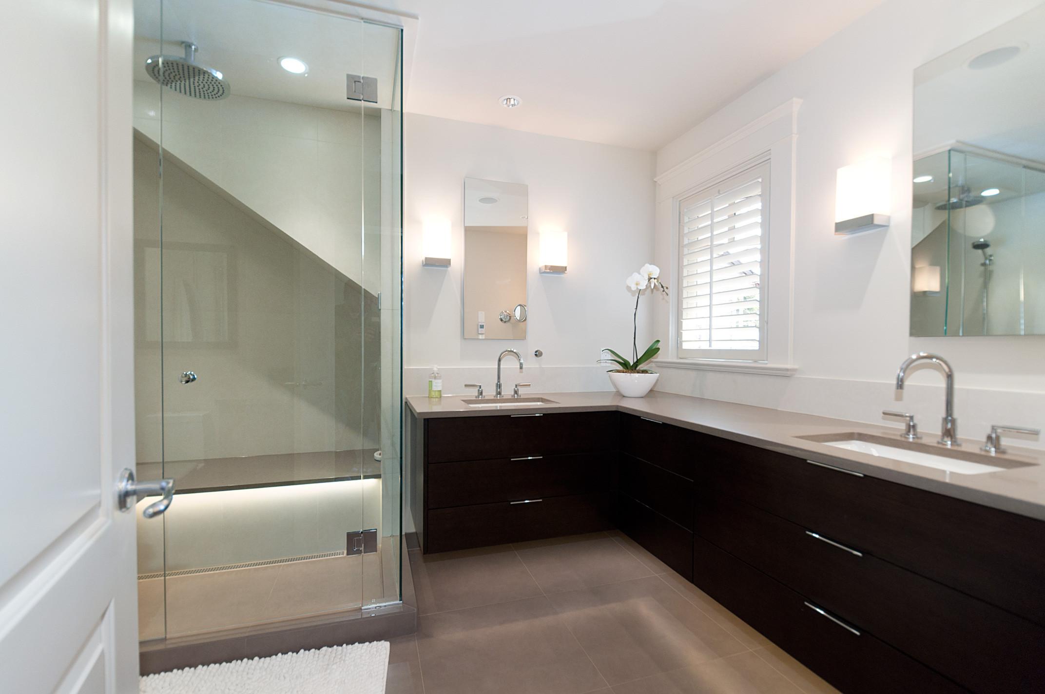Modern bathroom design silver fern ventures inc for New bathroom designs 2012