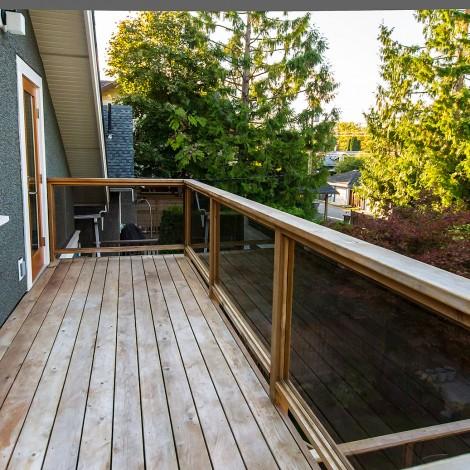 Cedar Balcony
