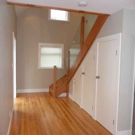 Converted Garage Hall & Stairway
