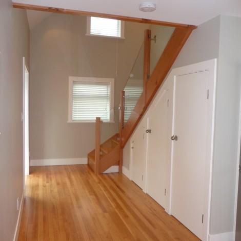 Converted Garage Hall & Stairway