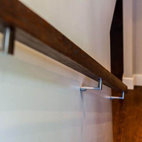 Hardwood Banister