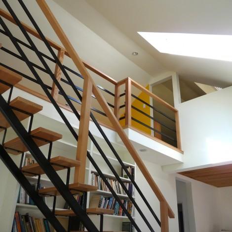 Loft Area with Skylight