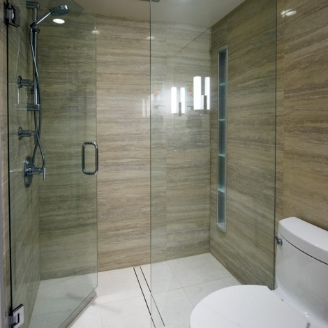 Large tile shower 1