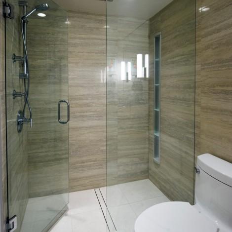 Large tile shower 1